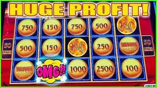 WATCH ME TURN $100 INTO HUGE PROFIT LIGHTNING LINK SLOT MACHINE