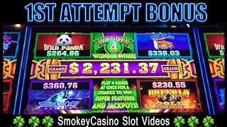 BUFFALO GOLD Slot Machine Wonder 4 Win - Aristocrat
