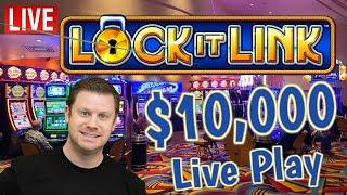 $15,000 Lock It Link - Live Bank The Bonus Las Vegas Slot Play