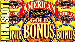 NEW SLOT! AMERICAN ORIGINAL GOLD  BETTER THAN CLASSIC? Slot Machine (SG)