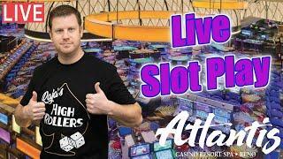 $7500 Live Slots Play from Reno at The Atlantis Casino Resort Spa