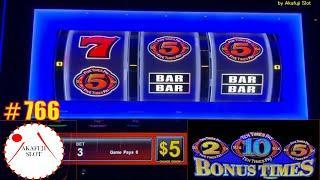 High Limit - Progressive JackpotBonus Times Slot & Lightning Cash Handpay Magic Pearl Slot 赤富士スロット