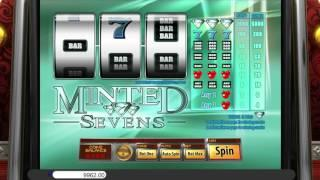 Minted Sevens• free slots machine by Saucify preview at Slotozilla.com