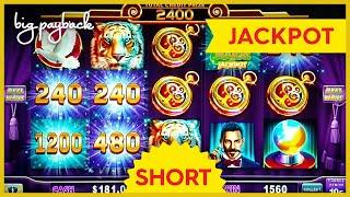 JACKPOT HANDPAY! Lock It Link Hold Onto Your Hat Slot - $24 MAX BET BONUS! #Shorts