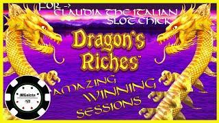 ️HIGH LIMIT Lightning Link Dragon's Riches EPIC SESSION  ️$25 MAX BET BONUS ROUND Slot Machine