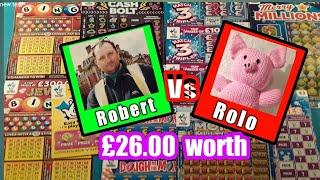 Scratchcards..CASH BOLT..JEWEL BINGO..Dough Money..Match Tripler..Wonderlines. Multiplier