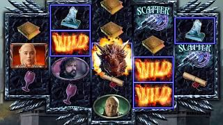 GAME OF THRONES Video Slot Casino Game with a DRAGONSTONE FREE SPIN BONUS