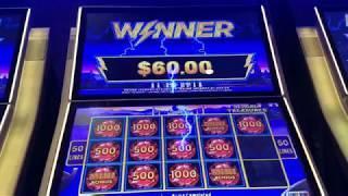BIG WIN Over 100X Win.  Lightning Link