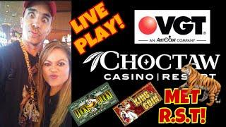 LIVE PLAY AT CHOCTAW CASINO DURANT, OK️