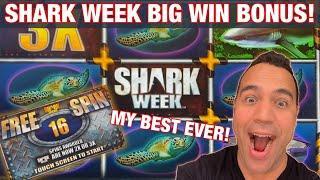 SHARK WEEK! Huge BIG WIN BONUS!!  | ZEUS WINS w/ Garrett!! | Reel RICHES!