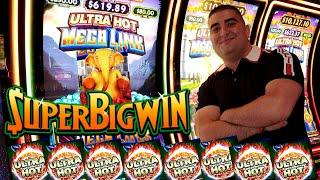 Ultra Hot MEGA Link Slot Machine HUGE WIN - $20 Max Bet   Got A Big Money During Bonus   SE-3   EP-6