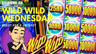 WILD WILD WEDNESDAY! QUEST FOR A JACKPOT [EP 06]  VIEWERS' CHOICE! Slot Machine (Aristocrat)