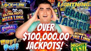 Over $100,000 HANDPAY JACKPOTS On Slot Machines In 2020   PART-3   High Limit Slot Machines JACKPOTS