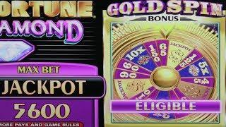 WHEEL OF FORTUNE  GOLD SPIN  $10 BET  HIGH LIMIT  10X MULTIPLIER  BIG WIN