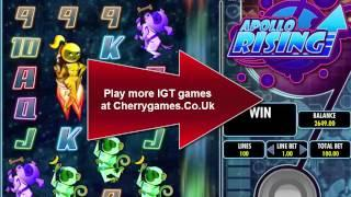 Apollo Rising Slot IGT - New online Casino games