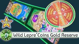 ️ New - Wild Lepre'Coins Gold Reserve slot machine, bonus