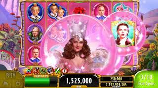 "WIZARD OF OZ MUNCHKINLAND Video Slot Casino Game with a ""MEGA WIN"" FREE SPIN BONUS"