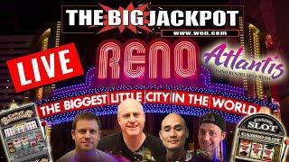 Live High Limit Slot Play  Atlantis Casino Resort and Spa Reno  | The Big Jackpot