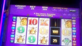 chasing the major progressive queen of the nile slot machine deluxe