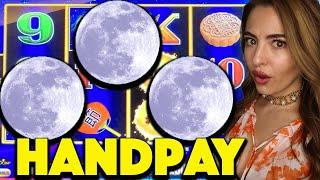 Up to $100/BET! HANDPAY JACKPOT on Autumn Moon Dragon Link!
