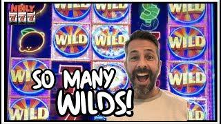 NEW GAME * SUPER LIT VEGAS * TONS OF WILDS! CASH ME OUT SLOT MACHINE STRATEGY!