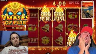 SLOT ONLINE - Scopriamo la 9 MASKS OF FIRE
