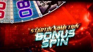 Backup Spin Bonus! Michael Jackson Wanna Be Startin' Somethin Slot Machine