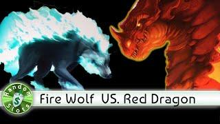 Fire Wolf and Gold Dragon Red Dragon slot machines, Encore of Nice Bonuses