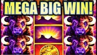 •HOW MANY BUFFALOES!?• MY BIGGEST HIT ON BUFFALO (ORIGINAL VER) Slot Machine Bonus (Aristocrat)
