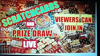 """Wow!...SCRATCHCARDS....PRIZE DRAW....NEW """"""""TRIVIAL PURSUIT """"""""SCRATCHCARD"""