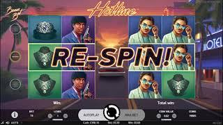 Hotline slot from Net Entertainment - Gameplay
