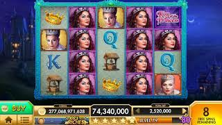 KISS OF THE PRINCESS Video Slot Casino Game with a FREE SPIN BONUS
