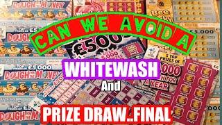 Fantastic..Game-4.Series-2.Scratchcards..& PRIZE DRAW Final.& DOUGH ME the Money..Full £500..B-Lucky