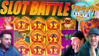 LATEST SLOTS BATTLE feat STICKY WILDS EVERYWHERE!!!!