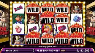 NIGHT AT THE MOVIES Video Slot Casino Game with a LOBBY FREE SPIN BONUS