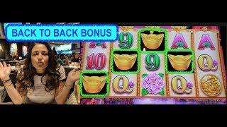 RARE SLOT MACHINE WIN & BONUS ON FORTUNE KINGS GOLD SLOT MACHINE | ENCORE LAS VEGAS