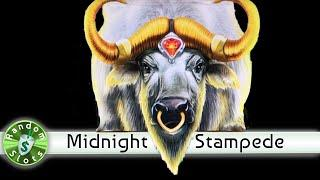 Midnight Stampede slot machine, encore of good spin