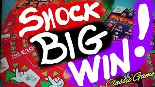 """AMAZING""""""""BIG""""""""WINNER.& ALSO AMAZING""""FULL CARD""""....ALL SCRATCHCARDS IN THIS CLASSIC GAME ARE AMAZING"""
