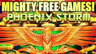 MIGHTY PHOENIX FREE GAMES! SUPER BIG WIN! PHOENIX STORM MIGHTY CASH ULTRA Slot Machine (Aristocrat)