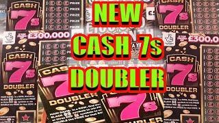 "NEW """"CASH 7s..DOUBLER SCRATCHCARD..and  £1000,000 MONTH..GOLD 7s..REDHOT BINGO..WhooooOOOOOOO"