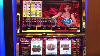 VGT Slots $12.50 Red Ruby Red Screens Red Spins Choctaw Gambling Casino, Durant, OK. Winner