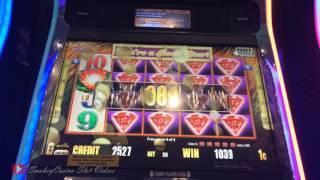 50 LIONS DELUXE Slot Machine Bonus - Aristocrat
