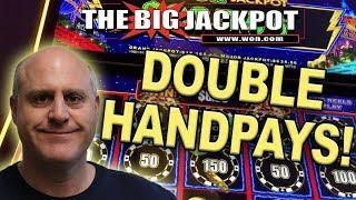 DOUBLE HANDPAYS on LIGHTNING LINK HIGH STAKES  | The Big Jackpot