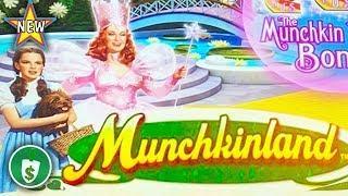 ️ New - Munchkinland slot machine, bonus