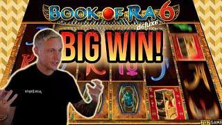 BIG WIN! BOOK OF RA 6 BIG WIN - €20 bet on CASINO Slot from CasinoDaddys LIVE STREAM