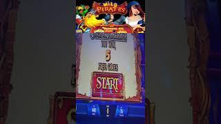 WILD PIRATES DOUBLE PENNIES FREE SPINS (IGT)