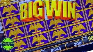 BIG WIN $50 BETS/ SLOT JACKPOT HIGH LIMIT/ MUCHO DINERO SLOTS