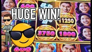 Huge Win on Crazy Rich Asians + new Wonka slot play!