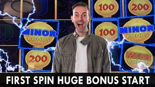 HUGE FIRST SPIN  High Limit Lightning Link Bonus  ZOLTAR Predicts WINNING  Soboba