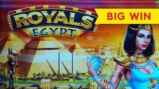 VERY RARE BONUS! Royals Egypt Slot - BIG WIN, LOVED IT!